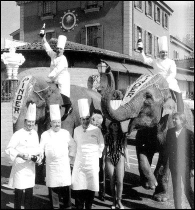 bocuse & loiseau praznujeta na slonih