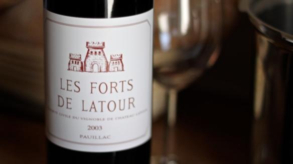 les forts de latour dvatisočtri (isti letnik kot tisti, katerega rojstni dan se slavi