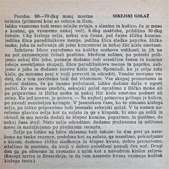 ivačič - recept iz knjige